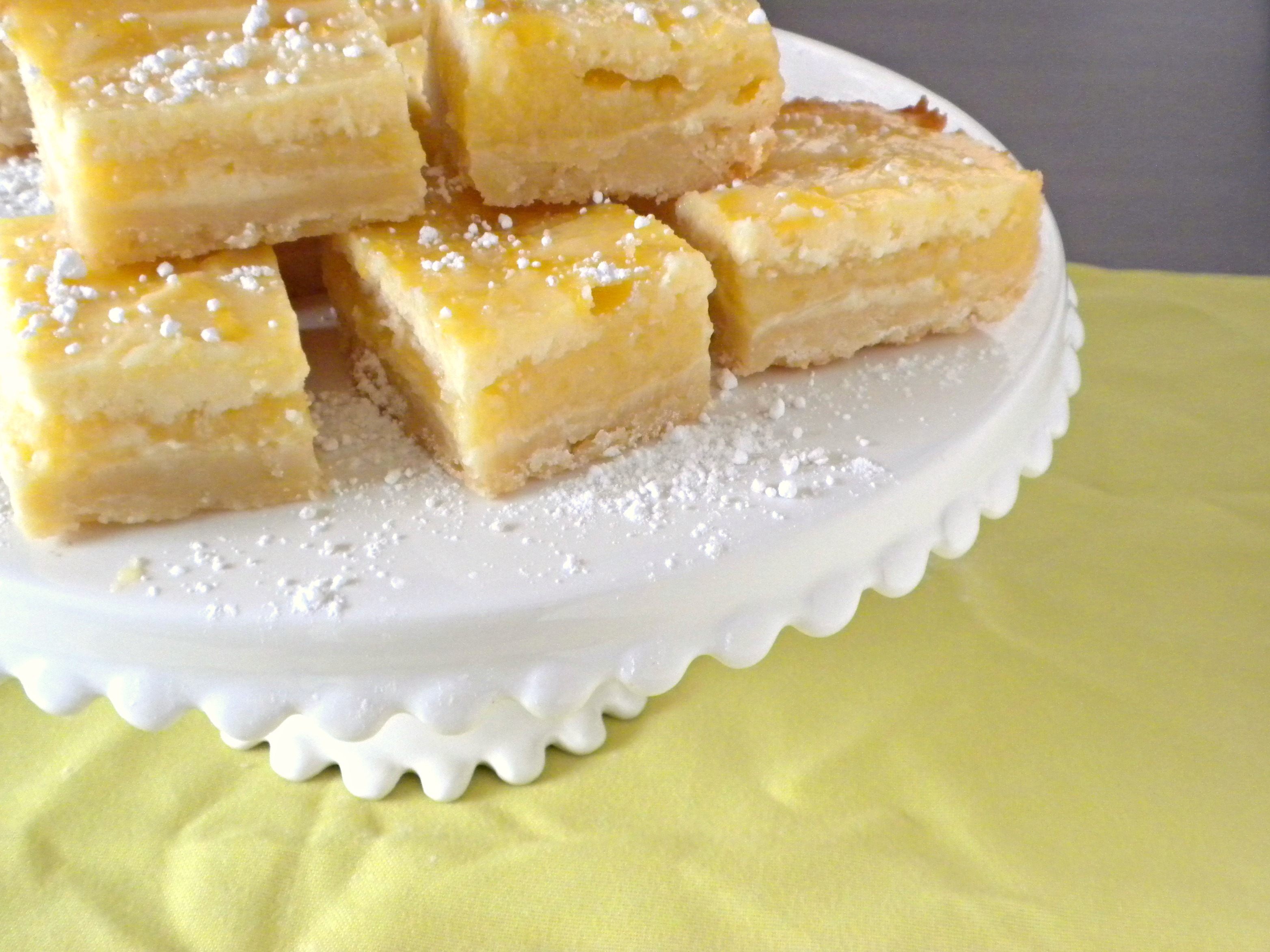 Lemon Cheesecake Bars - Diary of a Teenage Baker