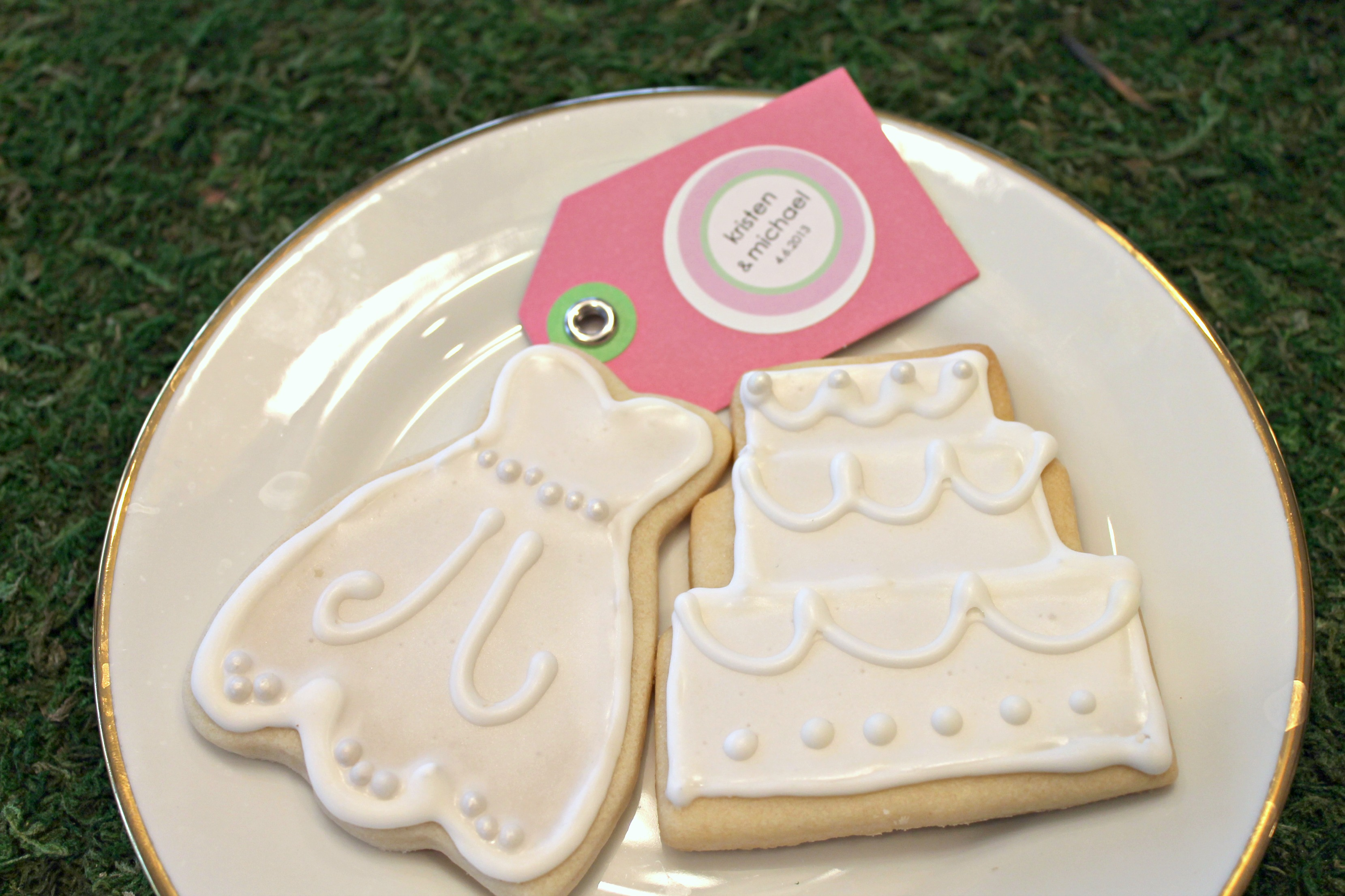 Bridal Shower Sugar Cookies - Forks In The Road