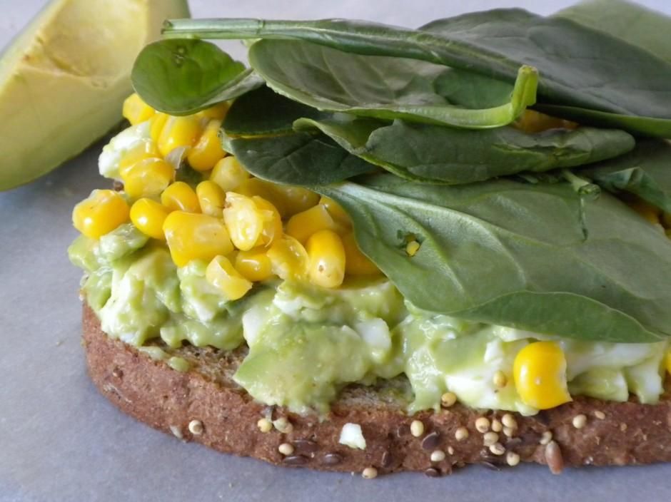 Avacado Egg Salad Sandwich
