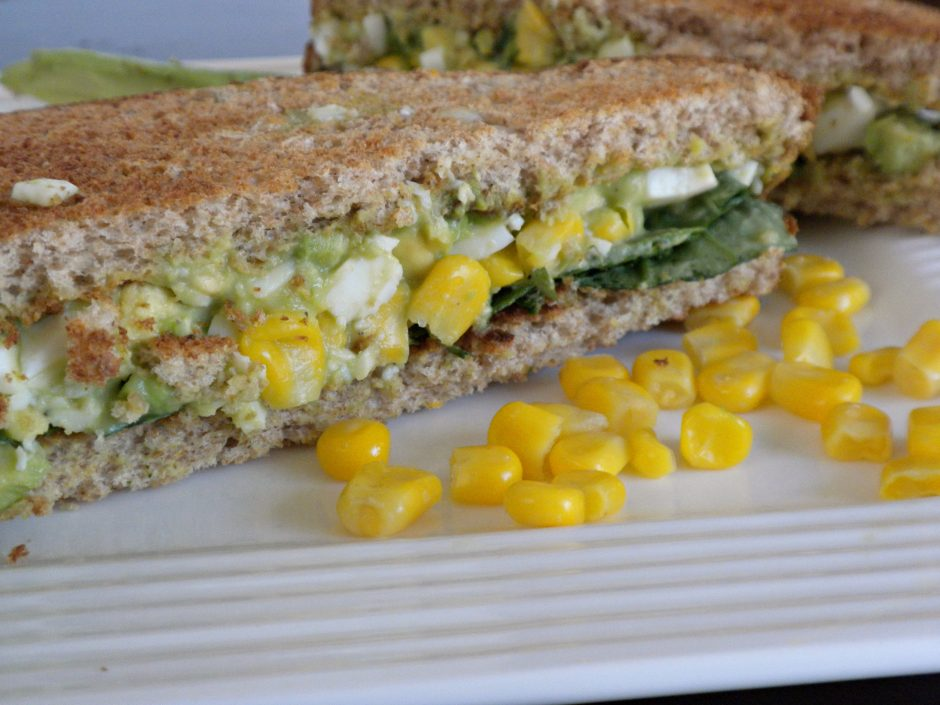 Avacado Egg Salad Sandwich