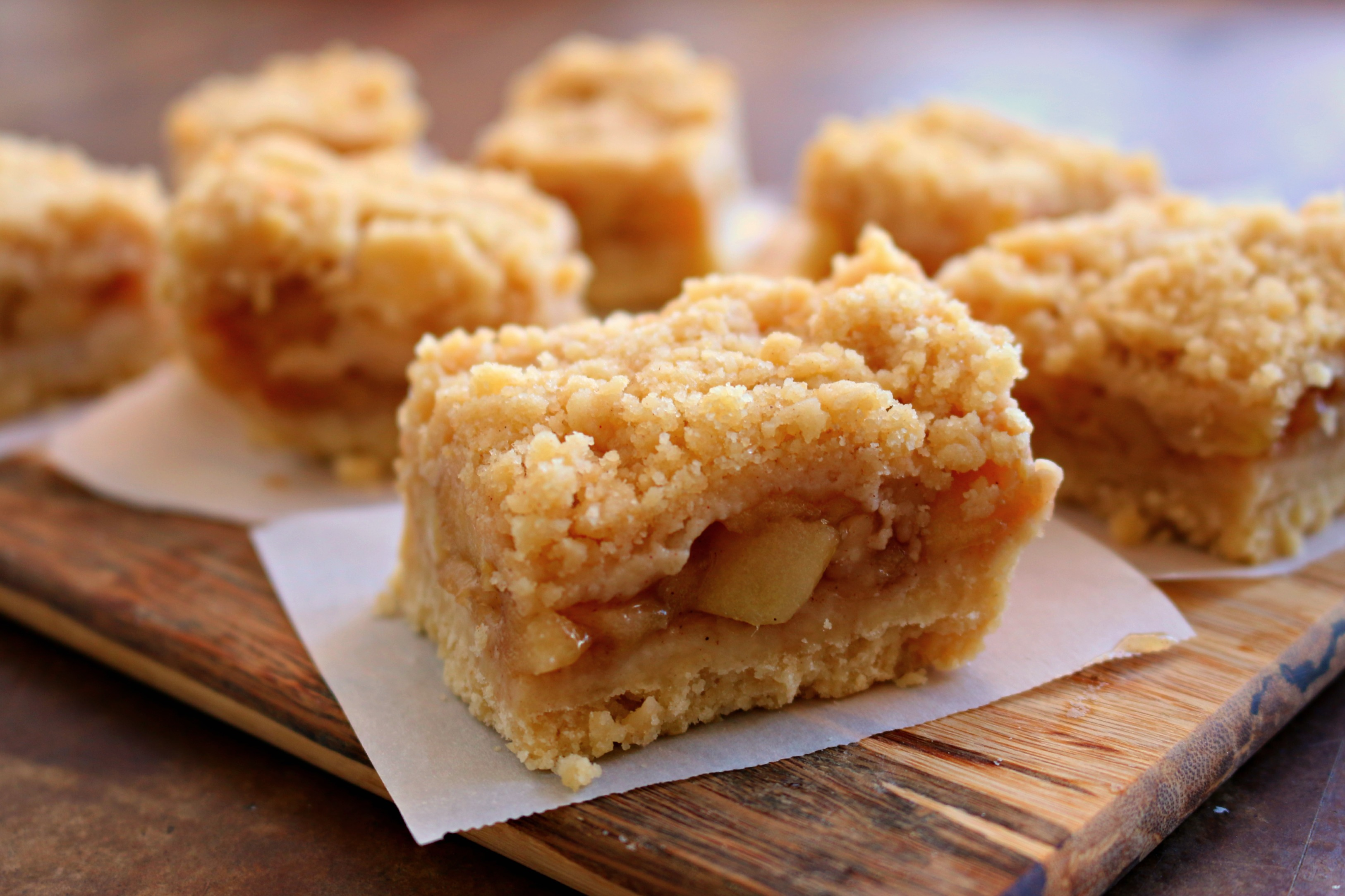 Kitchen Drawers Instead Of Cabinets Apple Crumble Bars Diary Of A Teenage Baker