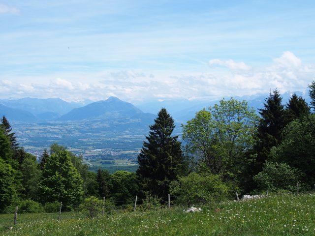 view from mt saleve, switzerland