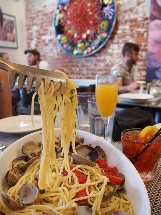 il Canale: spaghetti alle vongole