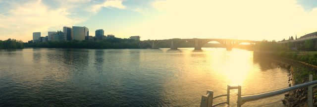 Sunset at Georgetown Waterfront Park