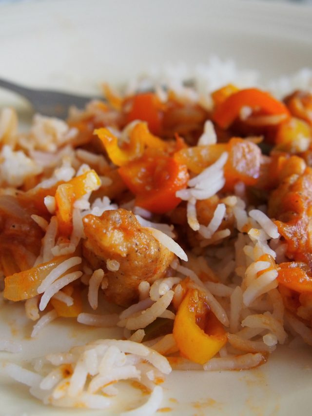 Chicken Salsa stir-fry