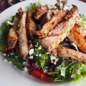 Med Deli grilled chicken salad