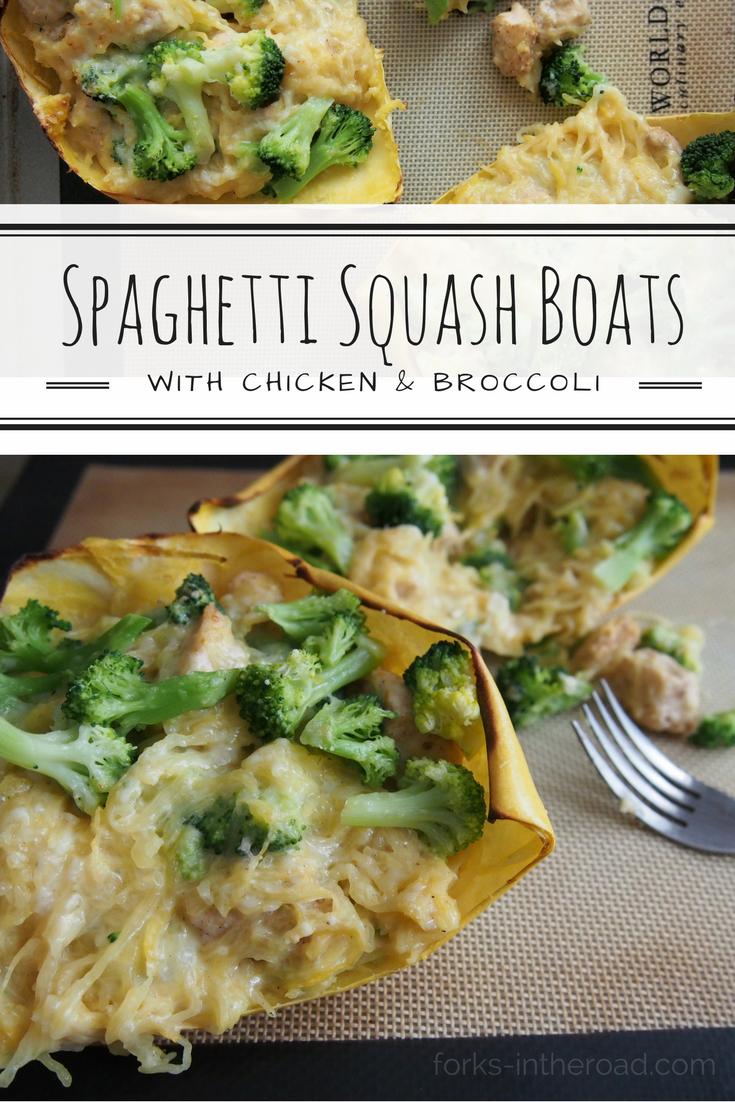 spaghetti squash boats
