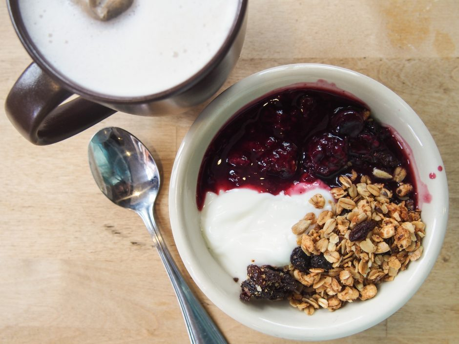 Wild Flour Bakery Granola and Yogurt