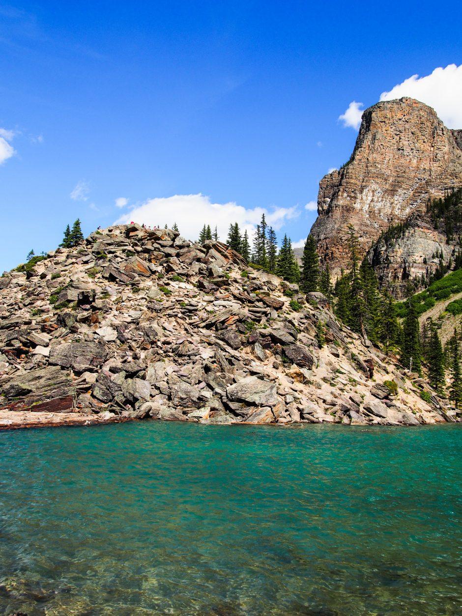 Moraine Lake Rockpile